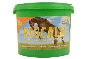 Global Herbs RigCalm 1KG - Free P&P - Rig Calm Supplement for Horses