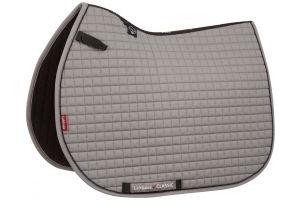 LeMieux ProSport Classic Jump Square Saddle Pad Grey/Black
