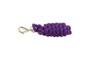 Shires Plain Leadrope Purple