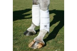 Woof Wear. Club brushing boot. Electric Blue. Large.