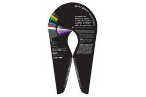 Bates/Wintec EASY-CHANGE Gullet System Gauge Correct Saddle Width Fitting Guide