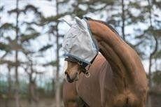 Horseware Amigo Fly Mask -Horse Aqua/Orange