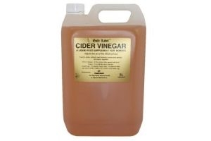 Gold Label Cider Vinegar Horse Supplement 5 Litre - Adjusts the PH in the intestinal tract increasing appetite