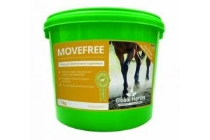 Global herbs move free maintenance 1kg, targeted nutrition for horse joints