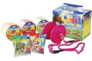 Likit Starter Kit Horse Toy Glitter Pink