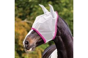 Horseware Amigo Fly Mask Cob Silver/Purple