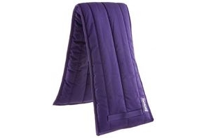 Roma Lunge Pad Lunging Saddle Cloth Pad Numnah Hore Riding Tack Purple Full