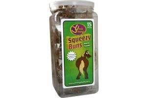 Uncle Jimmys Squeezy Buns Jar of 15 Buns
