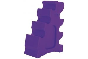 Classic Showjumps Sloping Jump Block Purple