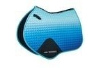 WeatherBeeta Prime Ombre Jump Shaped Saddle Pad - Ocean Breeze - Pony
