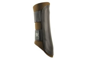 Woof Wear Club Brushing Boot - Chocolate/Black, X-Large by Woof Wear