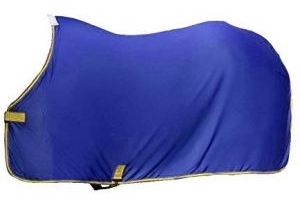 Weatherbeeta Airlite Cooler Standard Neck Rug (5 ft 9) (Blue/Lemon)