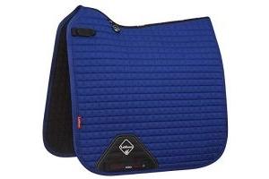 LeMieux Unisex's ProSport Suede Dressage Square Saddlepad, Benetton Blue, X-Large