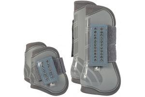Horze Advanced ProTec Boot Set Steel Grey