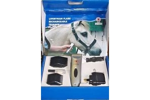 Liveryman 'Flair' Reachargable Trimmer With Accessories