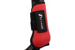 John Whitaker Tendon and Fetlock Boot Set Red