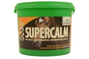 Global Herbs Unisex's Supercalm, Clear, 1 kg
