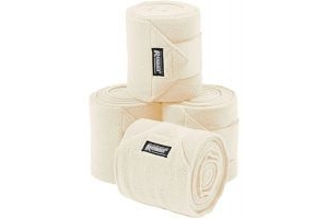 Roma Thick Polo Bandages 4 Pack Vanilla One Size