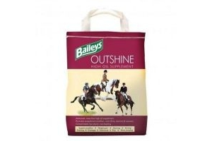 Baileys Outshine Oil Supplement Horse Pony Feed Coat Shine Equestrian - 6.5kg