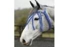 Saxon Fly Fringe - Blue - Pony