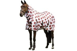 Saxon Mesh with Gusset Belly Wrap Combo Neck Ladybird Print (6'6)