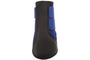 LeMieux Unisex's ProSport Grafter Brushing Boots Pair, Benetton Blue, Medium