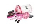 Roma Cylinder Grooming Kit 9 Pieces - Pink