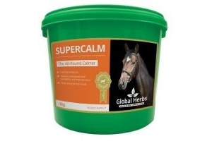 Global Herbs. Horse Supercalm. 1kg Sealed And Brand New.