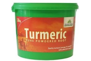 GLOBAL HERBS TURMERIC 1.8KG Added Black Pepper 1.8KG 1.8 KG Supplement