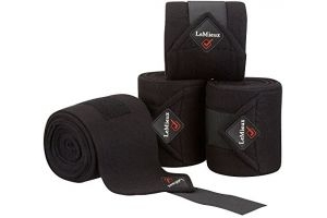 LeMieux Luxury Polo Bandages - Black