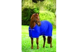 Horseware Amigo Jersey Cooler -Navy with Silver 6'6