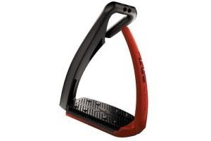 Freejump Soft'Up Pro Safety Stirrups Black/Red