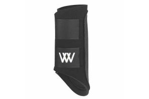 Woof Wear Protection by design. Club brushing boot. Black/Orange. Small.