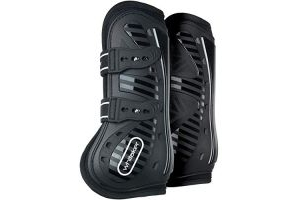 John Whitaker Bingley Tendon and Fetlock Boots Pony/Cob Black