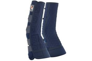 equilibrium Unisex's Equi Close Contact Chaps-Blue, Large