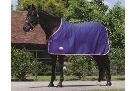 Weatherbeeta Jersey Cooler Standard Neck-Black/Teal 4'3