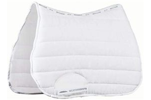 Weatherbeeta Ambition All Purpose Full Size Saddle Pad - White