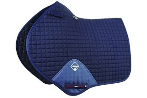 LeMieux Close Contact Jumping Square - Navy, Large