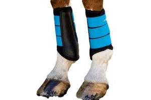 Shires ARMA Air Motion Brushing Boots (Pony, Royal Blue)