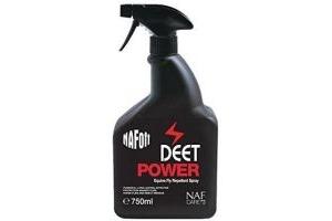 Naf Off Unisex Deet Power Horse Pony Fly Repellent Spray White 750ml Bottle