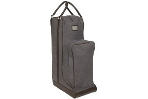 LeMieux Luxury Canvas Boot Bag Grey