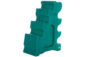 Classic Showjumps Sloping Jump Block Forest Green
