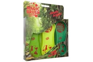 MagicBrush Soft Brush for Horses Pack of 3 - Pure Nature