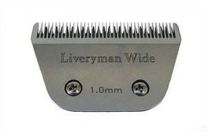 Liveryman Harmony Fine 1.0mm Wide Replacement Blade, 15W,  A5 Snap On Blade