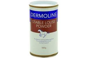 Battles Unisex's BHB0075 Dermoline Stable Louse Powder, Clear, Regular