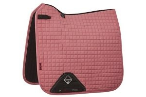 LeMieux Unisex's ProSport Suede Dressage Square Saddlepad, Blush Pink, Small/Medium