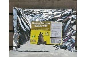 NAF General Purpose Supplement Vitamins & Minerals 2kg Refill