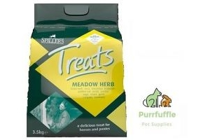 3.5KG SPILLERS MEADOW HERB HORSE TREATS TASTY SNACK FOR HORSE & PONY