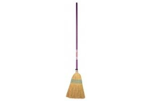 Red Gorilla Tubtrug Corn Broom Standard: Purple
