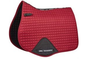 Weatherbeeta Full Size Prime All Purpose Saddle Pad One Size Maroon
